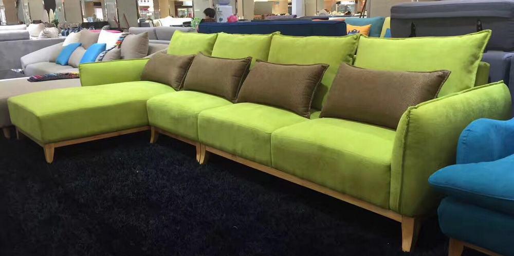 Угловой диван из Китая