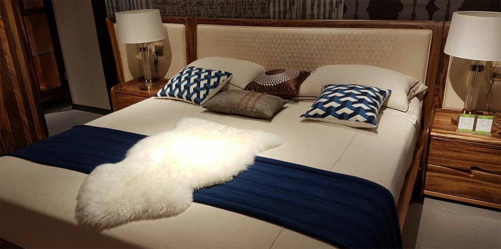 Деревянная кровать из Китая
